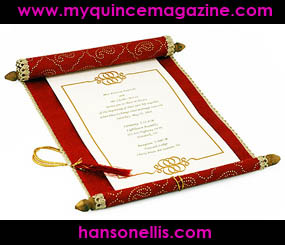 GET QUINCE TIPS: Have Your Unique Invitations - My Quince