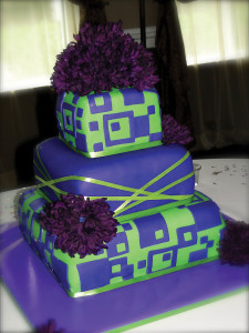 Colorful-Purple-and-Green-Quince-Cake-Floral