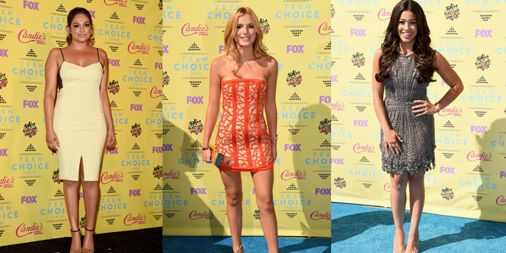 2015 TEEN CHOICE AWARDS: RED CARPET SUMMER FASHION