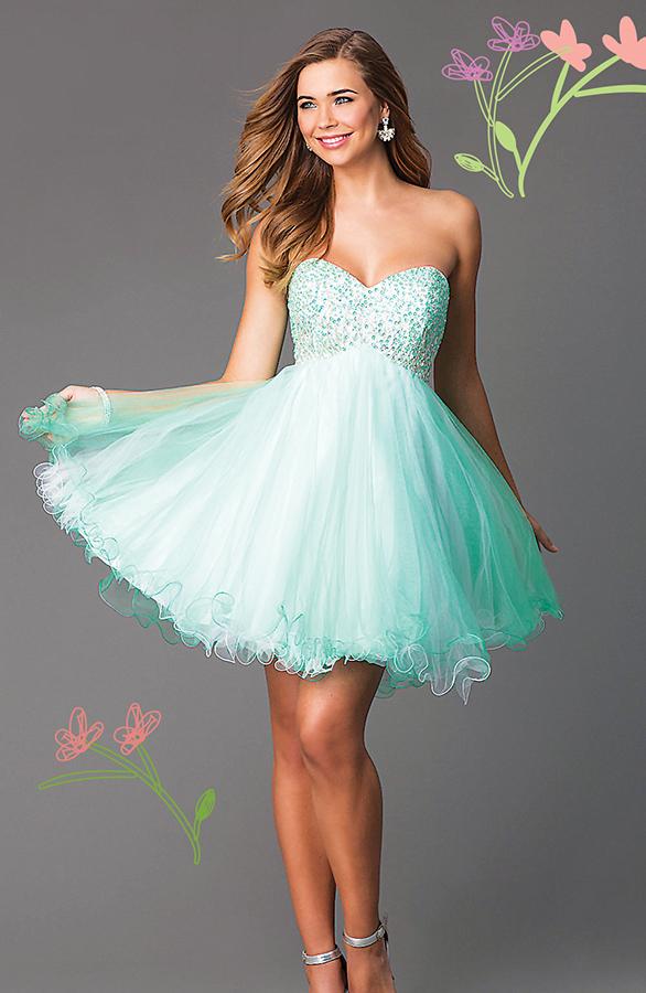 PromGirl.com Yellow Dresses