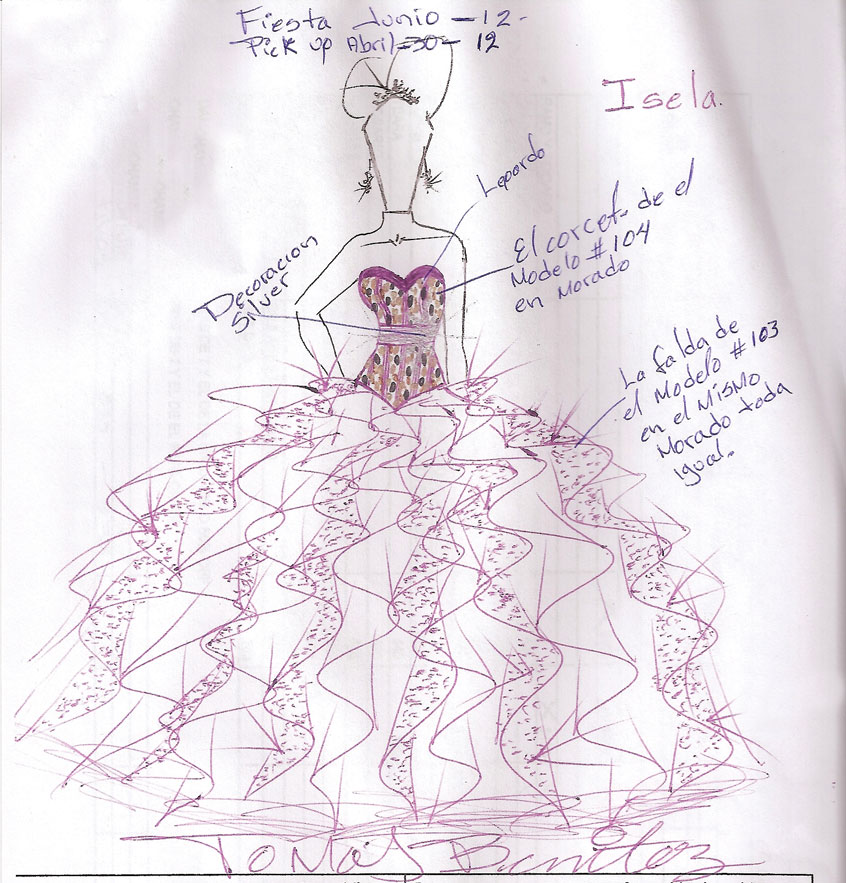 Quinceanera Dresses Drawings Expert Advice f...
