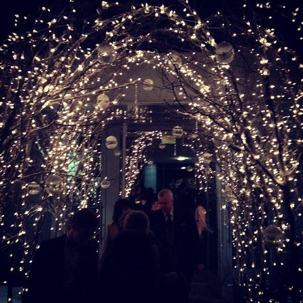 7-fairy-lights-wedding-arch