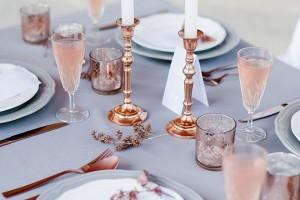 Quartz-rose-table-setting